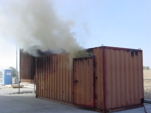 Flashover Simulator