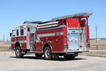Unit 2605: 2007 Pierce Dash 4x4 Engine (Station 1)