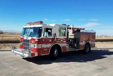 Unit 2606: 1991 Pierce Dash Engine (Station 2)