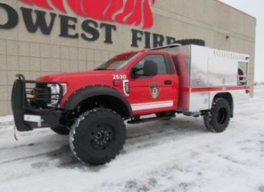 Unit 2630 : 2018 Ford F-550 Brush (Station 2)