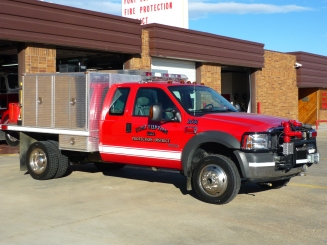 Unit 2631 : 2005 Ford F-450 Brush (Station 1)