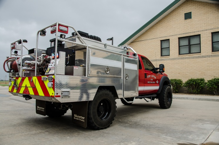 Unit 2633: 2017 Ford F-550 Brush (Station 1)